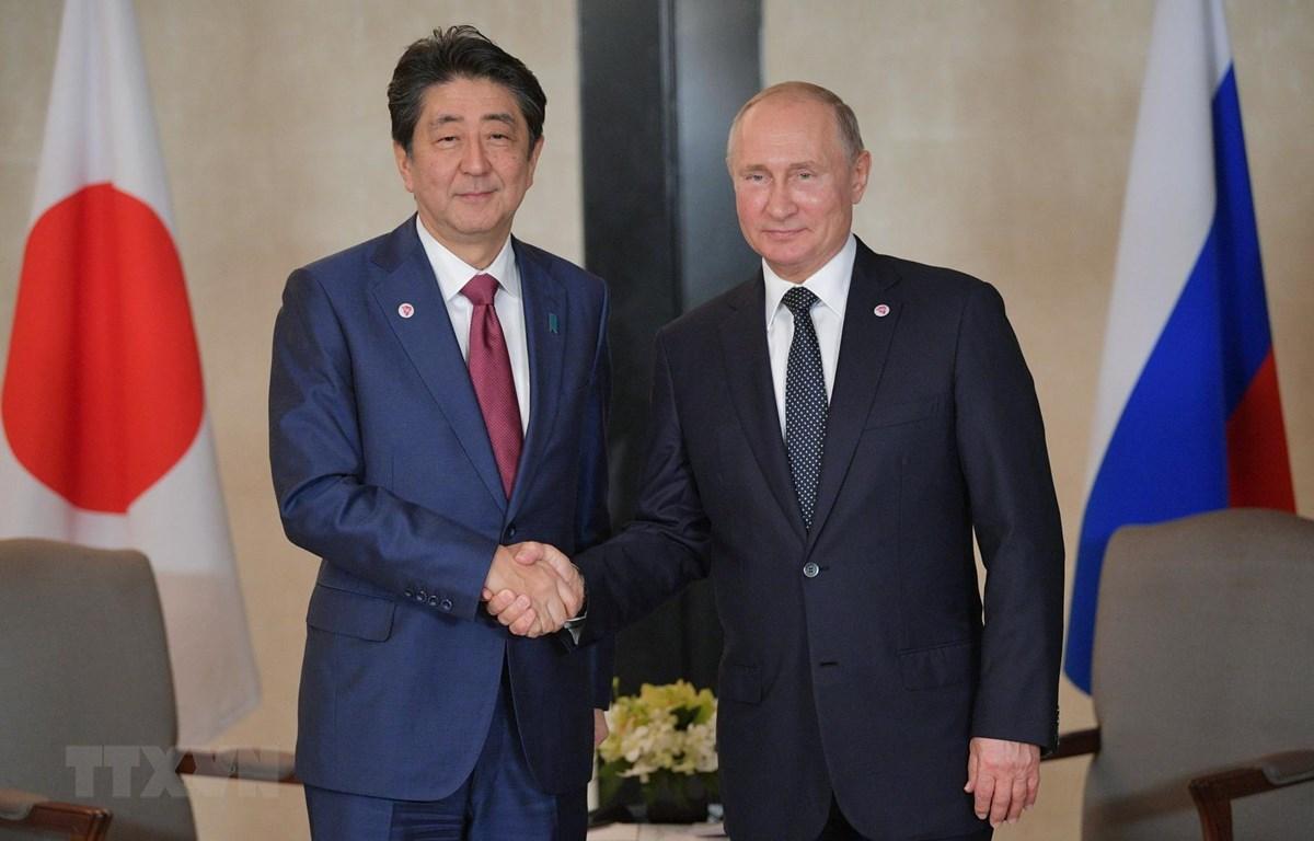 Thủ tướng Nhật Bản sẽ hội đàm với Tổng thống Nga Vladimir Putin. (Nguồn: AFP/TXTVN)