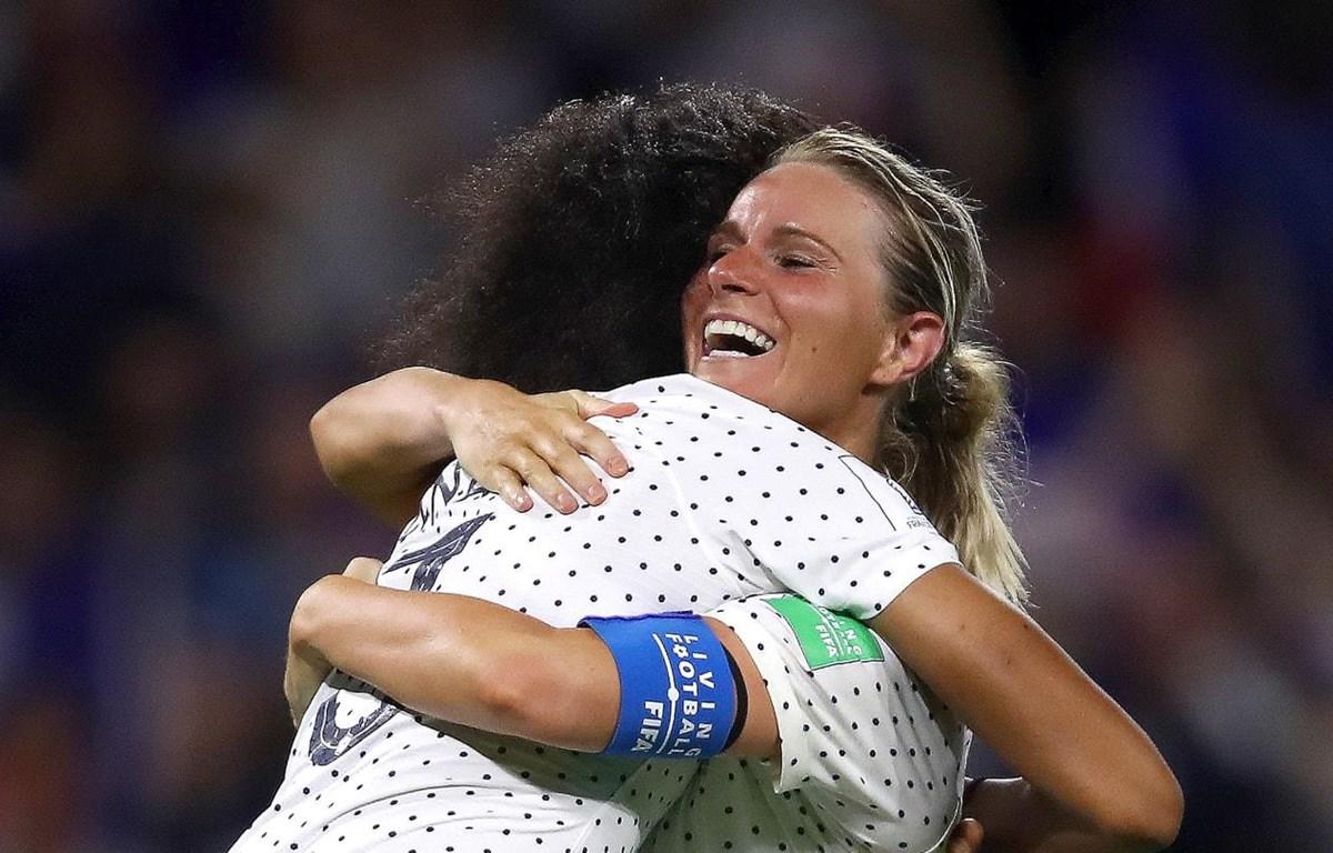Pháp giành vé vào tứ kết World Cup nữ 2019. (Nguồn: Getty Images)