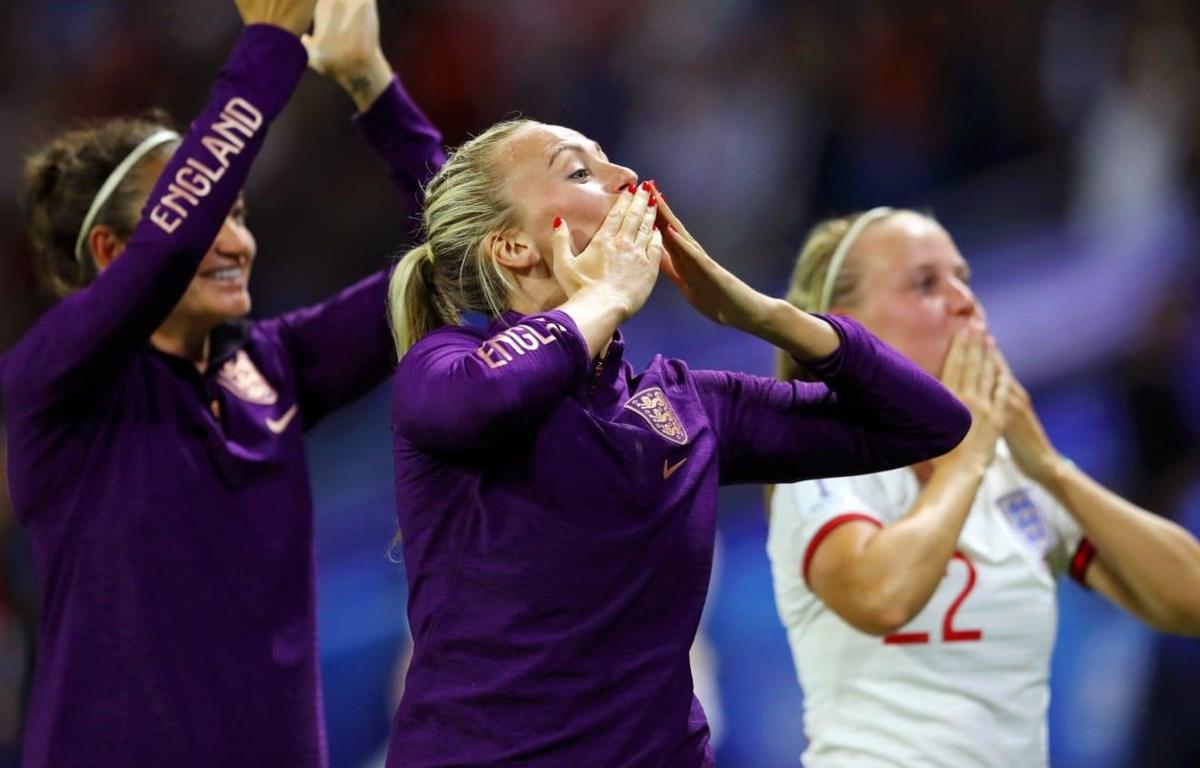 Đội tuyển Anh giành vé vào bán kết World Cup nữ 2019. (Nguồn: Getty Images)