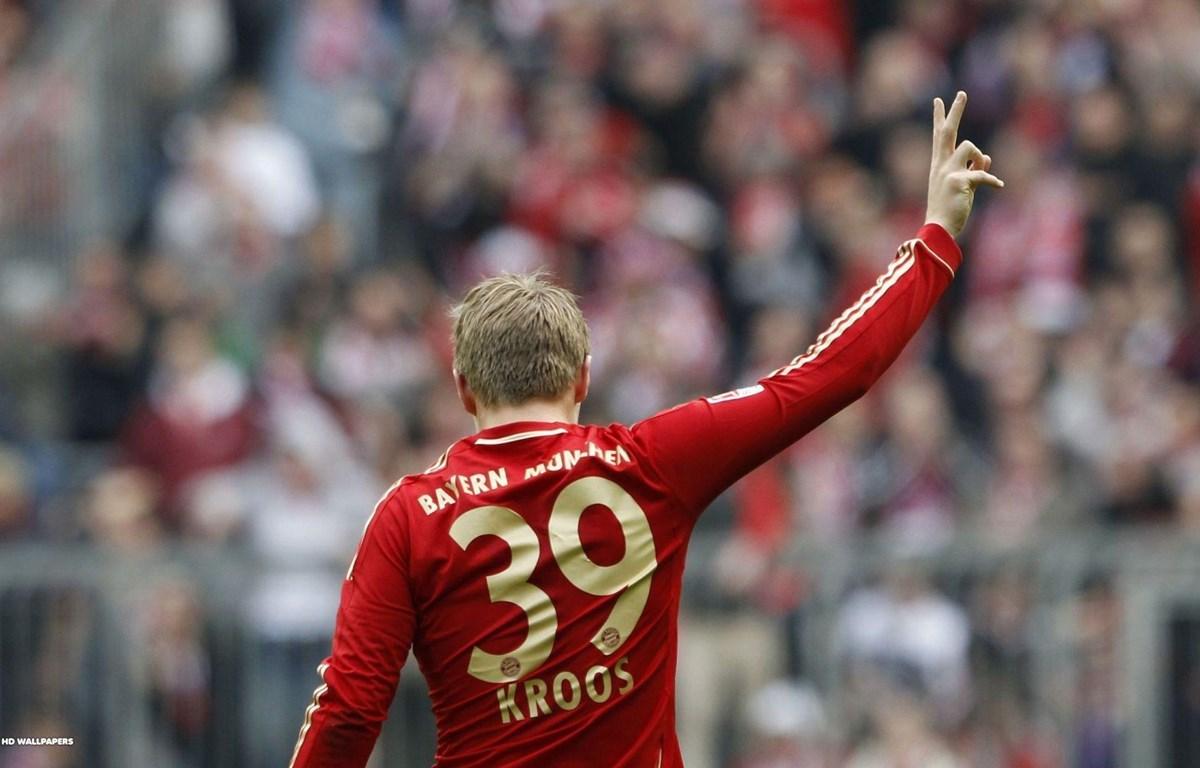 Kroos đã không được tin tưởng khi còn ở Bayern.