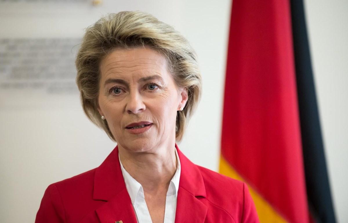 Bộ trưởng Quốc phòng của Đức, bà Ursula von der Leyen, được giới thiệu làm Chủ tịch Ủy ban châu Âu. (Nguồn: wiki)
