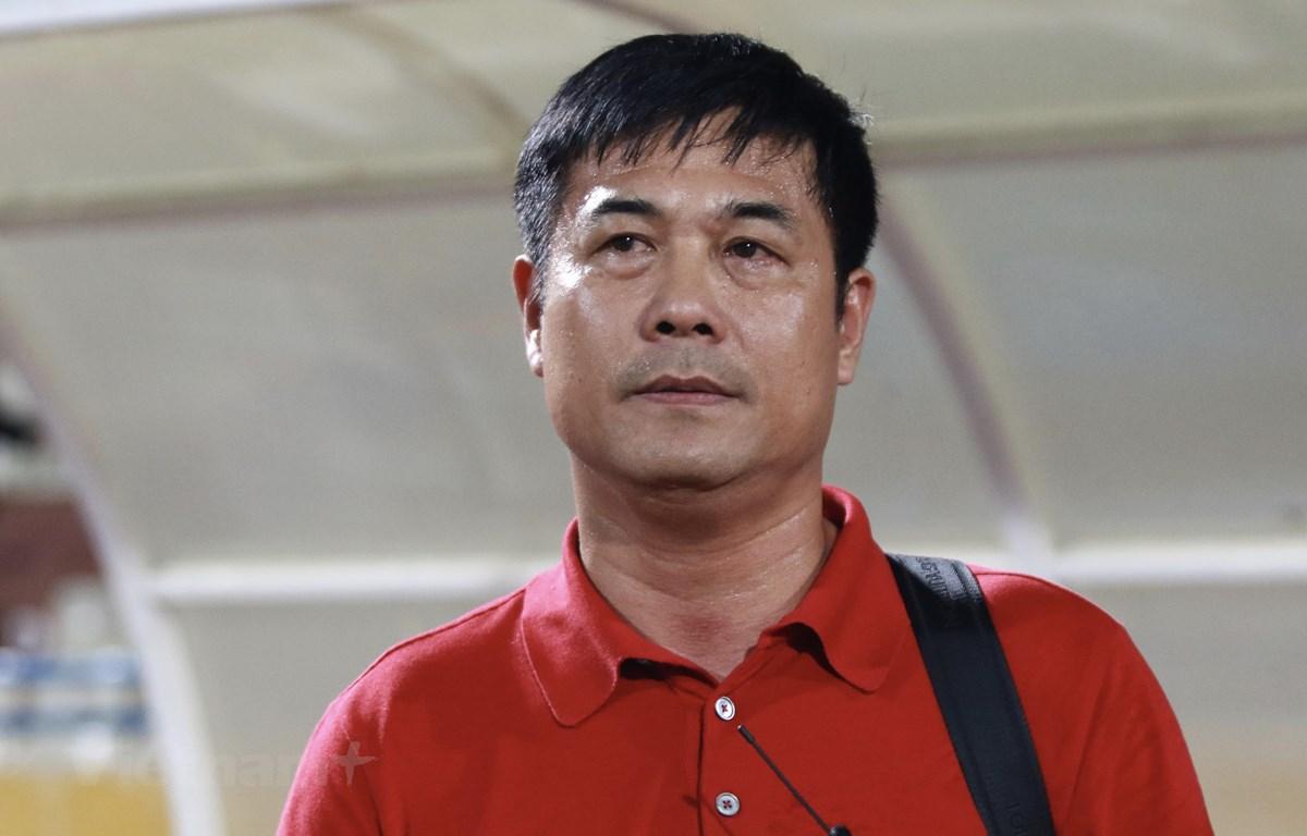 Chủ tịch CLB Thành phố Hồ Chí Minh, Nguyễn Hữu Thắng. (Ảnh: Nguyên An/Vietnam+)