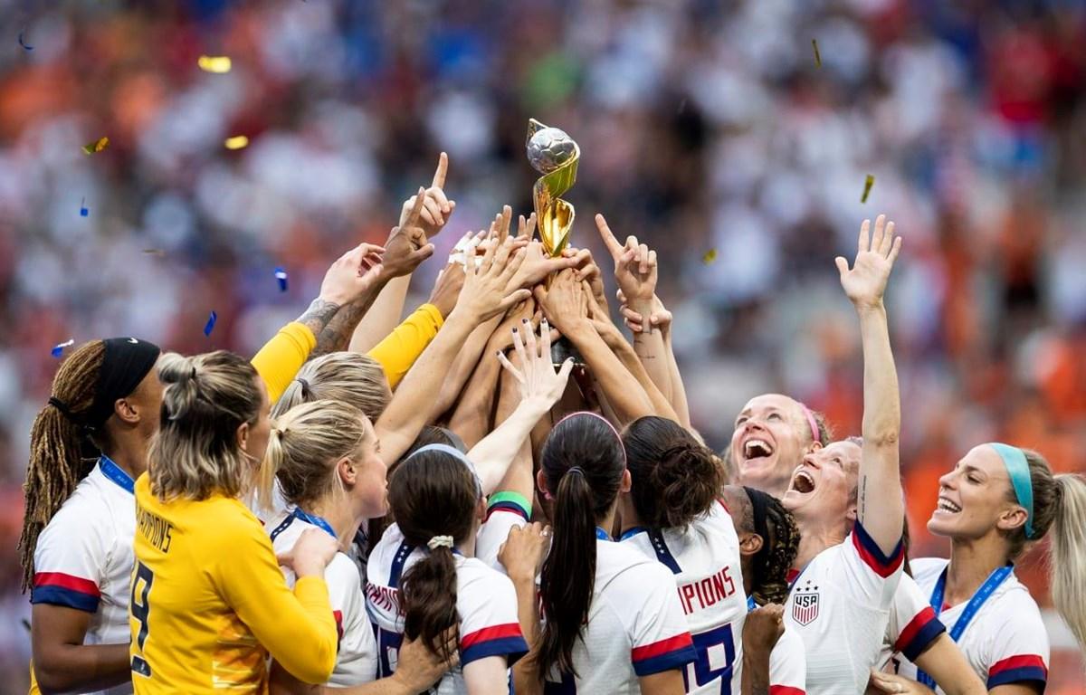 Mỹ giành nhiều chức vô địch World Cup nữ nhất. (Nguồn: Getty Images)