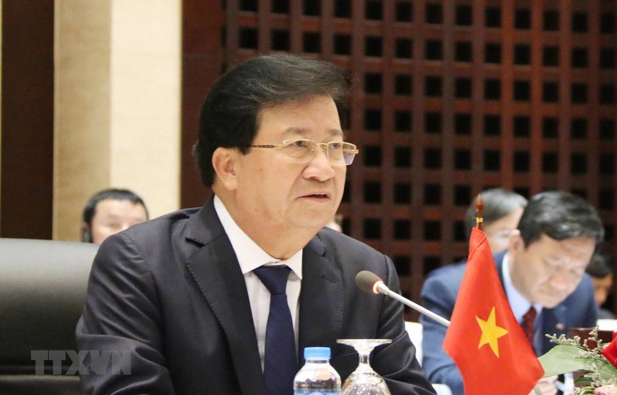 Phó Thủ tướng Trịnh Đình Dũng. (Ảnh: Xuân Tú/TTXVN)