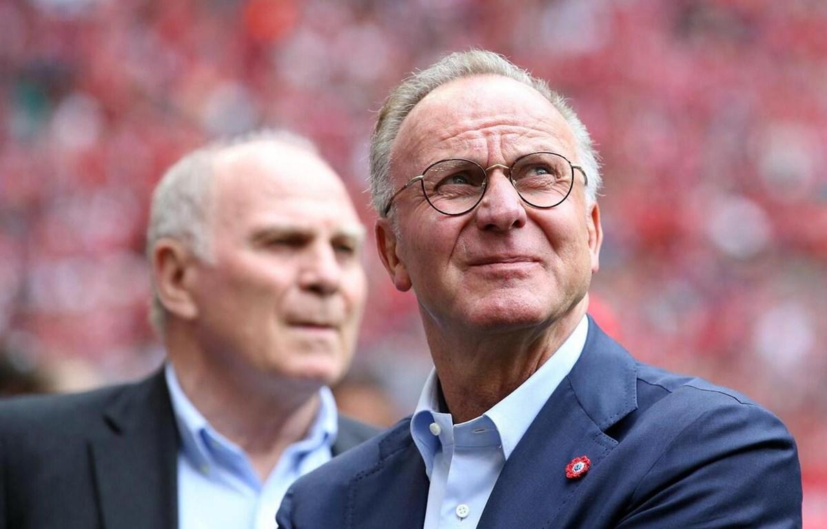 Giám đốc điều hành Karl-Heinz Rummenigge đang rất tự tin. (Nguồn: web.de)