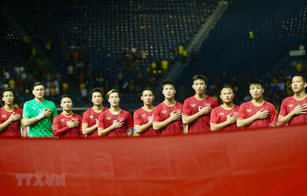 Việt Nam sẽ chung bảng với Thái Lan, Malaysia, Indonesia và UAE. (Ảnh: Minh Tiến/TTXVN)