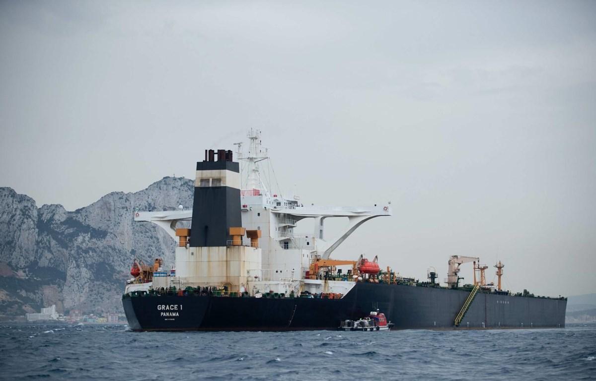 Tàu chở dầu Grace 1. (Nguồn: AFP)