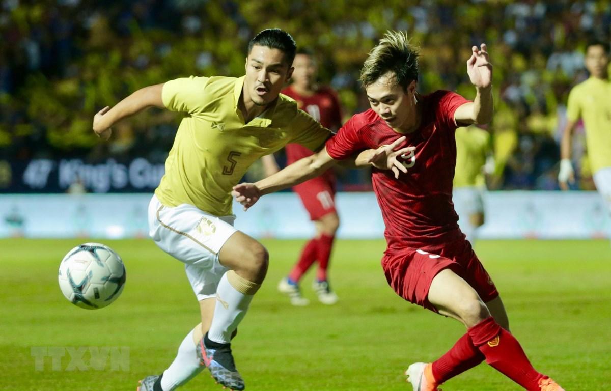 Thái Lan chạm trán Việt Nam tại King's Cup 2019. (Ảnh; Minh Tiến/TTXVN)