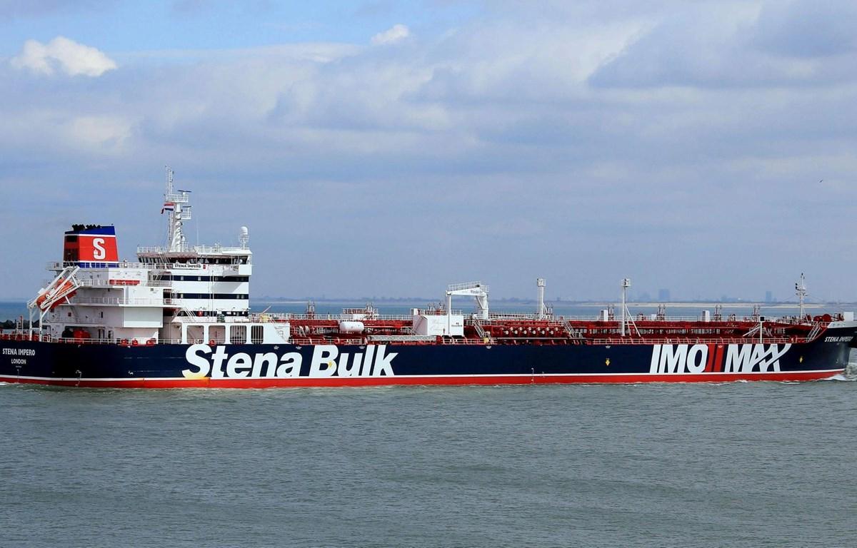 Tàu chở dầu Stena Impero. (Nguồn: AFP/Getty Images)