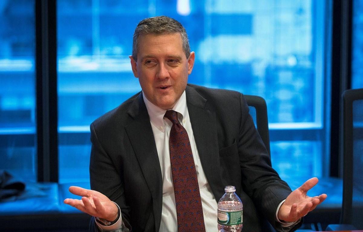 James Bullard, Chủ tịch Cục Dự trữ Liên bang Mỹ (Fed) chi nhánh St. Louis. (Nguồn: Reuters)