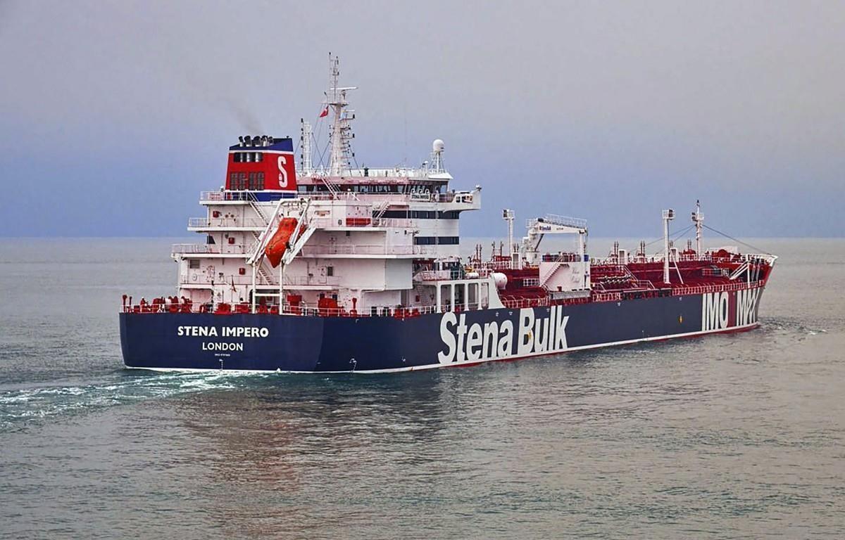 Tàu chở dầu Stena Impero. (Nguồn: AP)