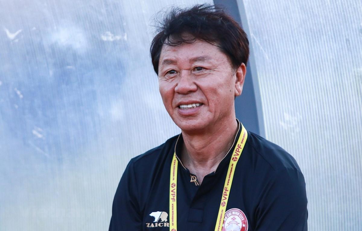 Huấn luyện viên Thành phố Hồ Chí Minh, Chung Hae Soung. (Ảnh: Nguyên An/Vietnam+)