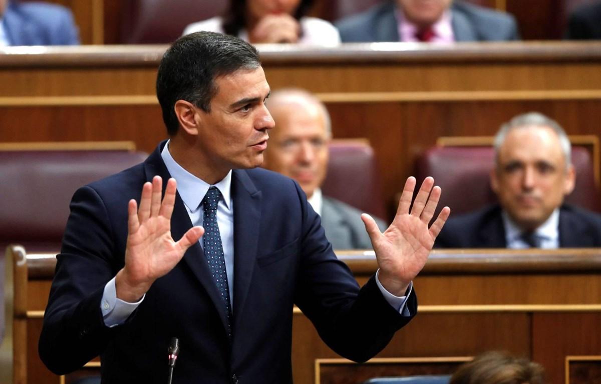 Ông Pedro Sanchez, quyền Thủ tướng Tây Ban Nha. (Nguồn: elpais.com)