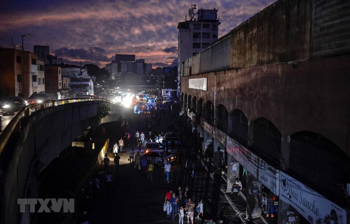 Venezuela tiếp tục bị Mỹ trừng phạt. (Nguồn: AFP/TTXVN)