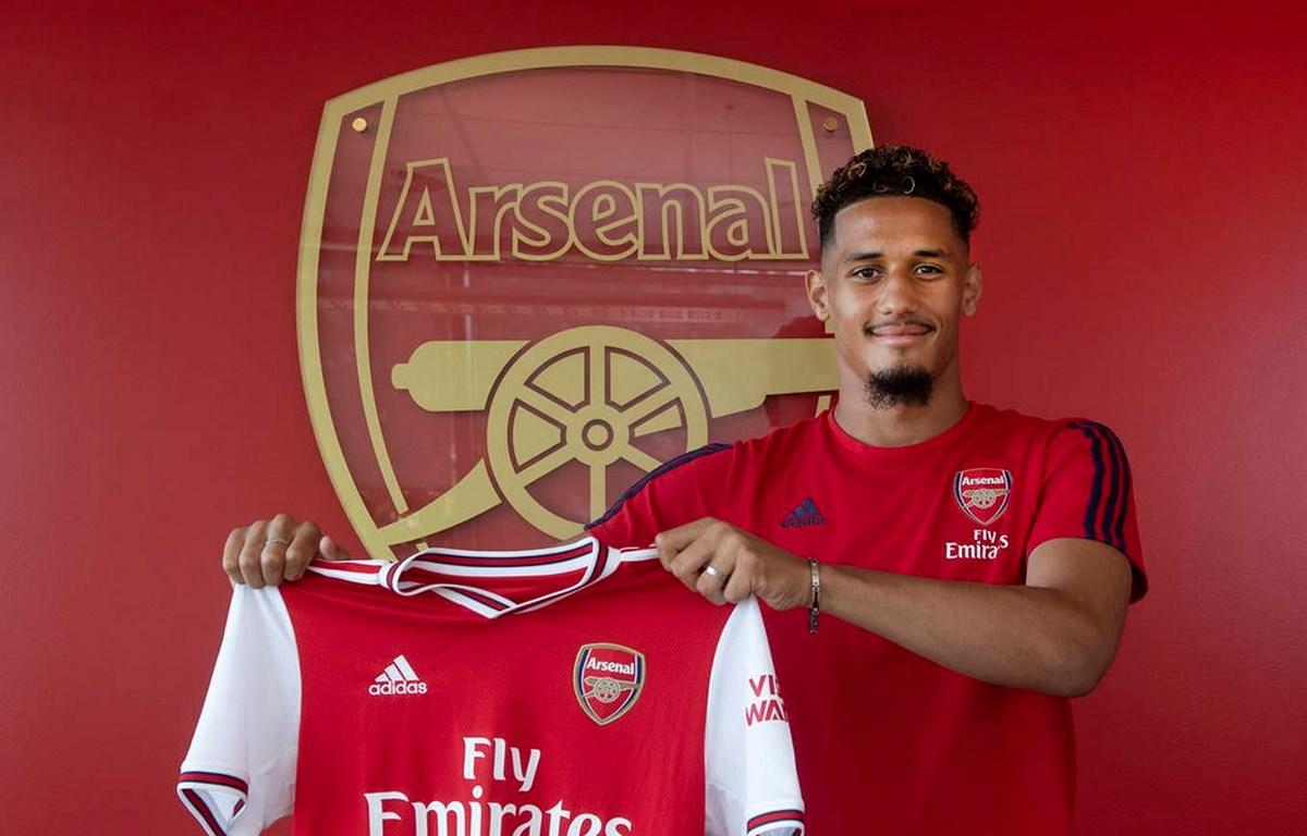William Saliba gia nhập Arsenal. (Nguồn: arsenal.com)