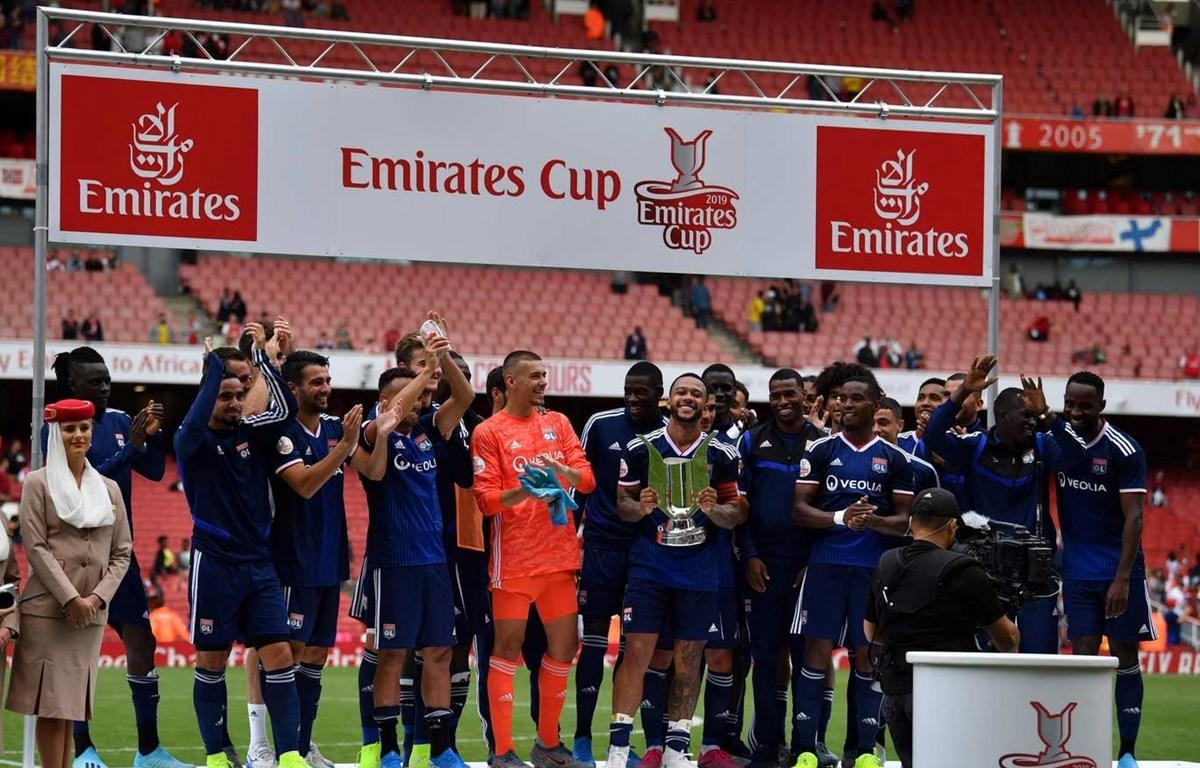 Lyon vô địch Emirates Cup 2019. (Nguồn: AFP/Getty Images)