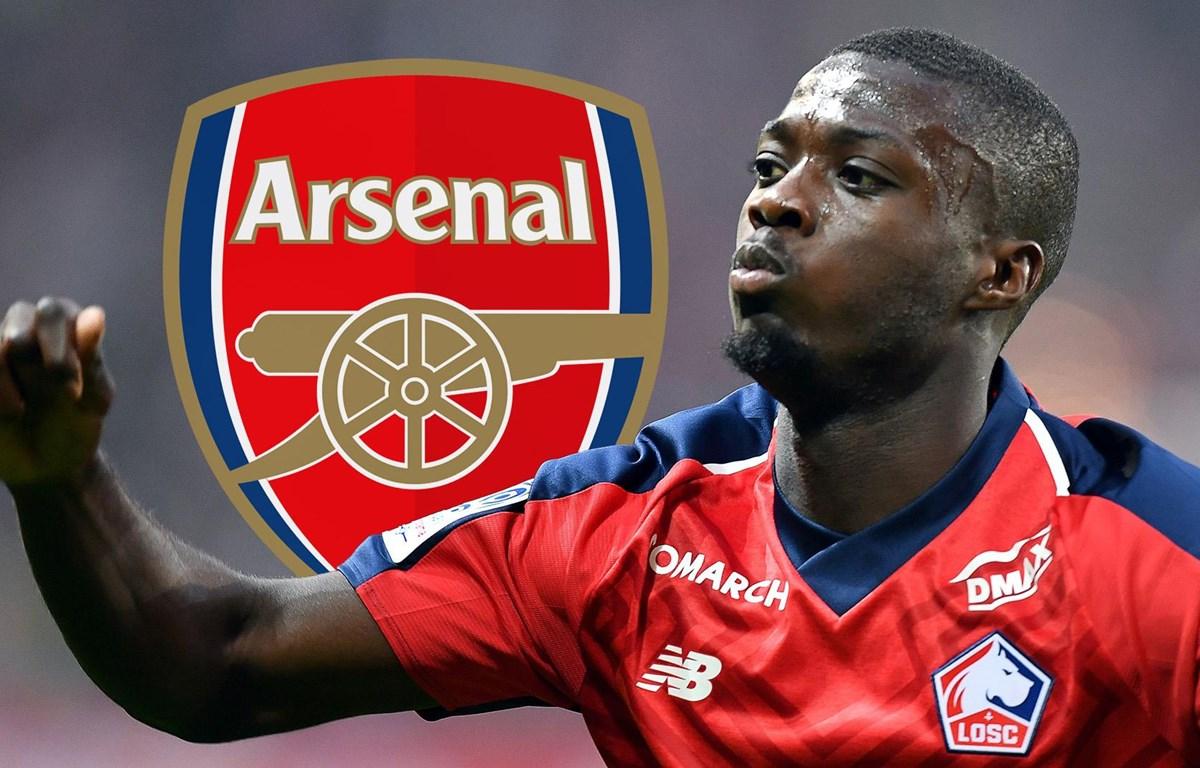 Nicolas Pepe sắp đi vào lịch sử chuyển nhượng của Arsenal.