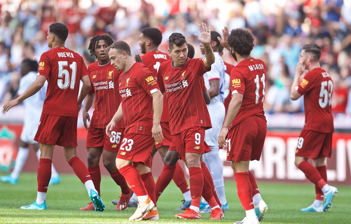 Liverpool chấm dứt chuỗi trận thất vọng bằng chiến thắng trước Lyon. (Nguồn: Getty Images)