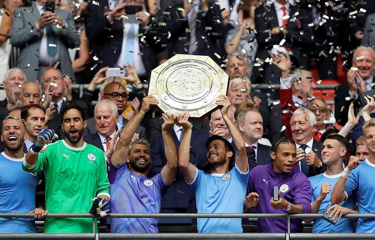 Manchester City lần thứ 6 giành Siêu Cúp Anh.