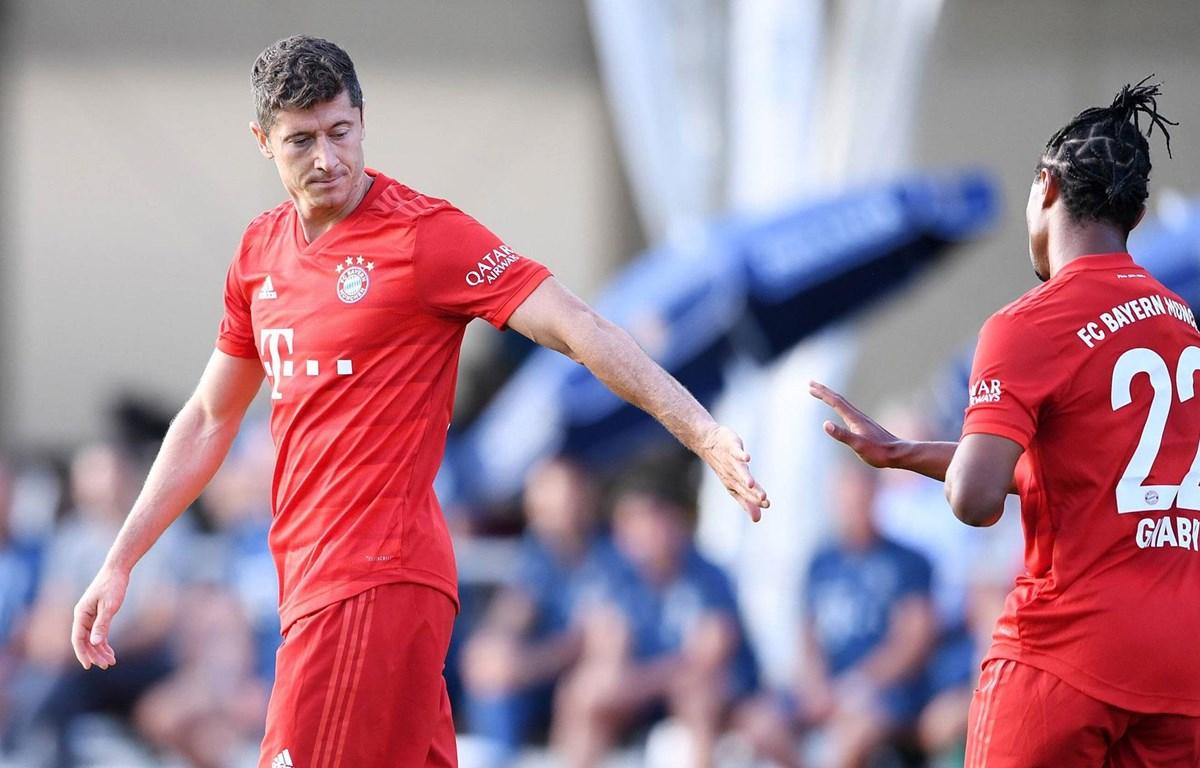 Bayern Munich dễ dàng có chiến thắng đậm. (Nguồn: fcbayern)
