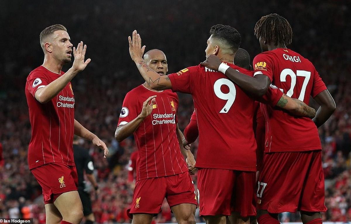 Liverpool khởi đầu Premier League bằng chiến thắng đậm.