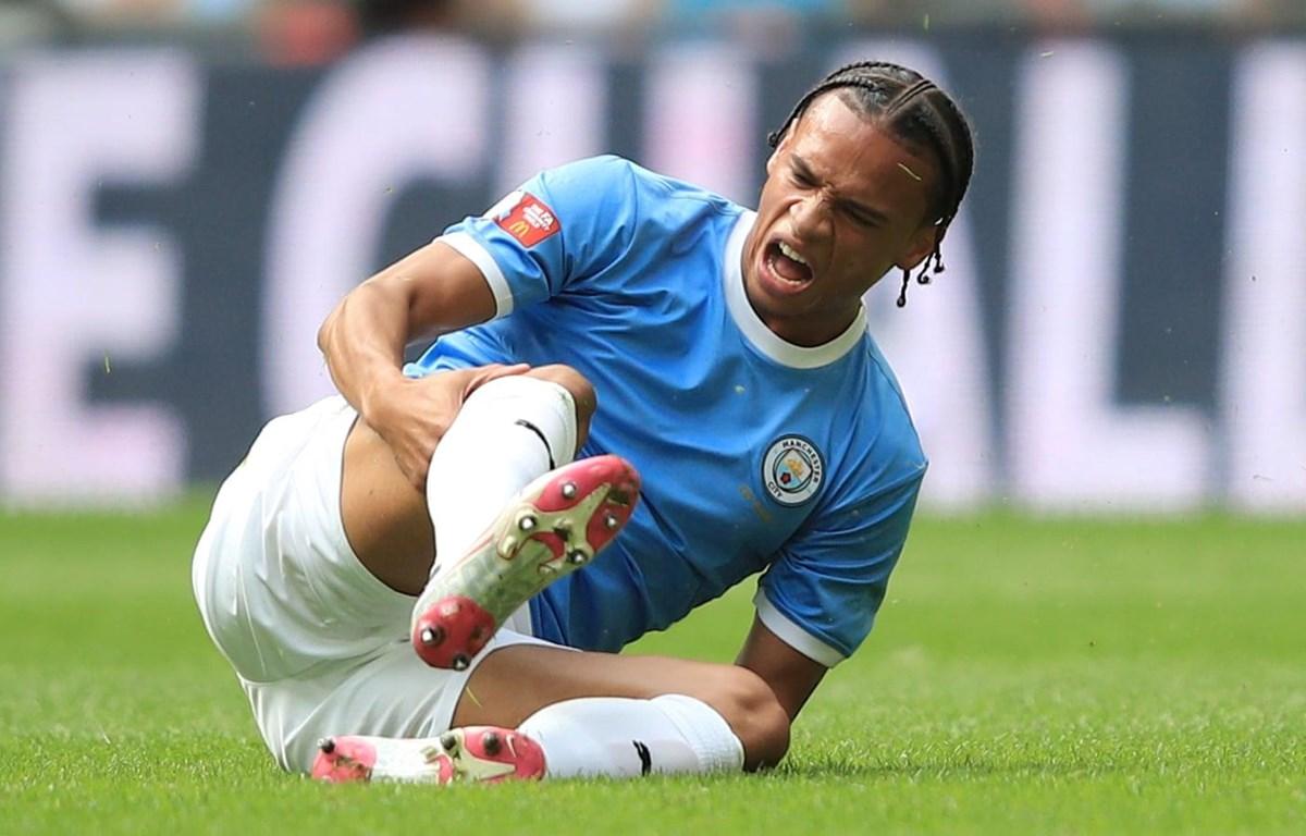 Leroy Sané chấn thương khiến Bayern phải chuyển phương án thay thế. (Nguồn: Getty Images)