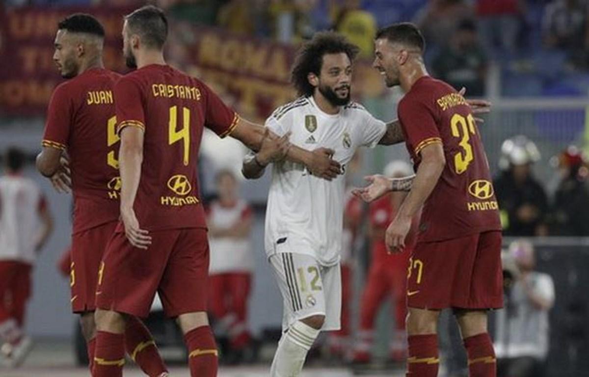 Marcelona đá hỏng lượt sút luân lưu khiến Real Madrid bại trận. (Nguồn: ilmessaggero.it)