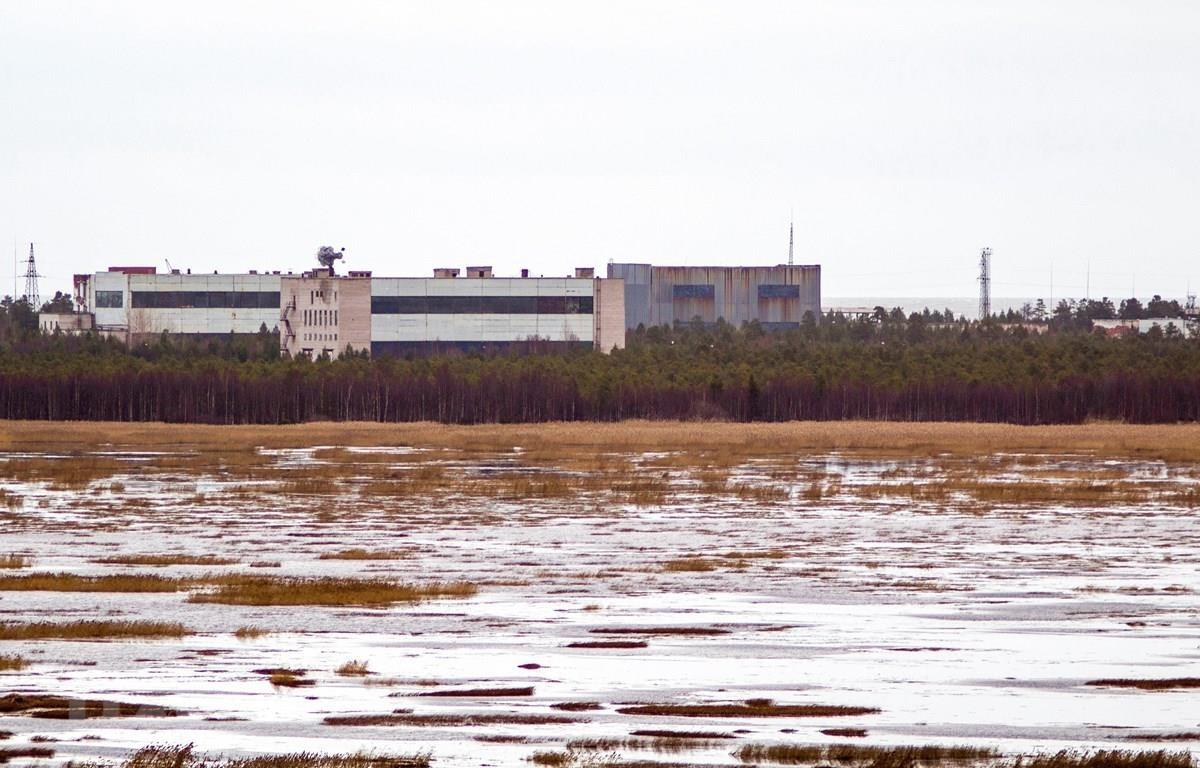 Thao trường quân sự của Bộ Quốc phòng Nga ở tỉnh Arkhangelsk, vùng cực Bắc Nga - nơi xảy ra vụ tai nạn thử nghiệm động cơ đẩy nhiên liệu lỏng khiến 5 người thiệt mạng. (Ảnh: AFP/TTXVN)