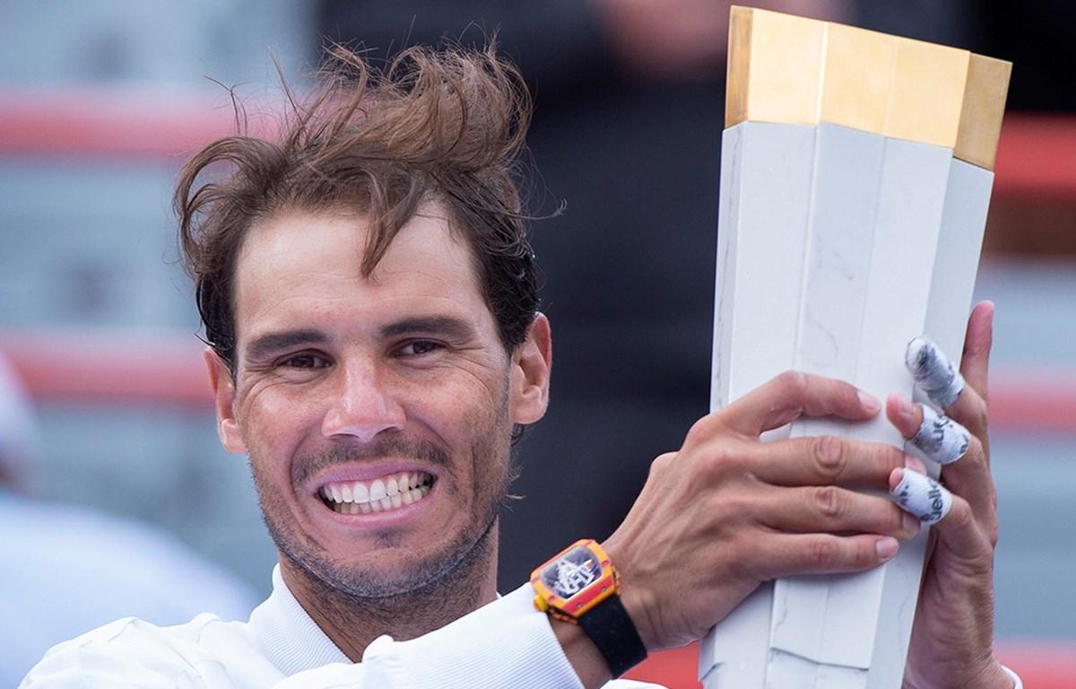 Nadal vô địch Rogers Cup 2019. (Nguồn: Getty Images)