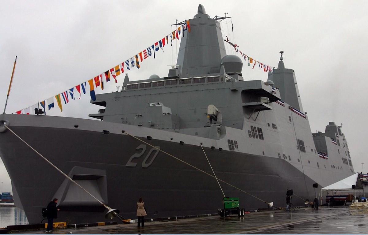 Tàu Hải quân của Mỹ. (Nguồn: usni.org)