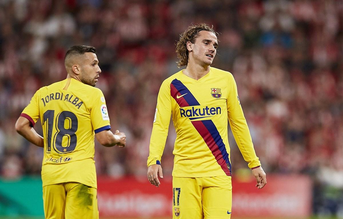 Barcelona bại trận trong ngày La Liga khởi tranh. (Nguồn: AP)