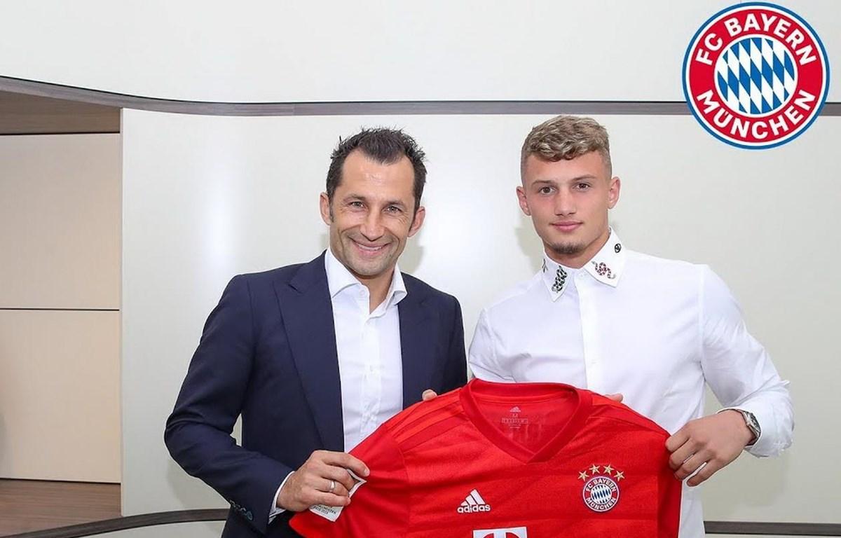 Cuisance chính thức gia nhập Bayern. (Nguồn: fcbayern)