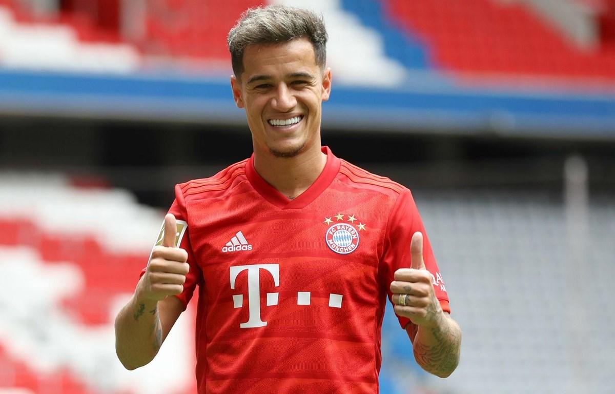 Coutinho thi đấu cho Bayern theo bản hợp đồng cho mượn 1 năm tử Barcelona. (Nguồn: Getty Images)