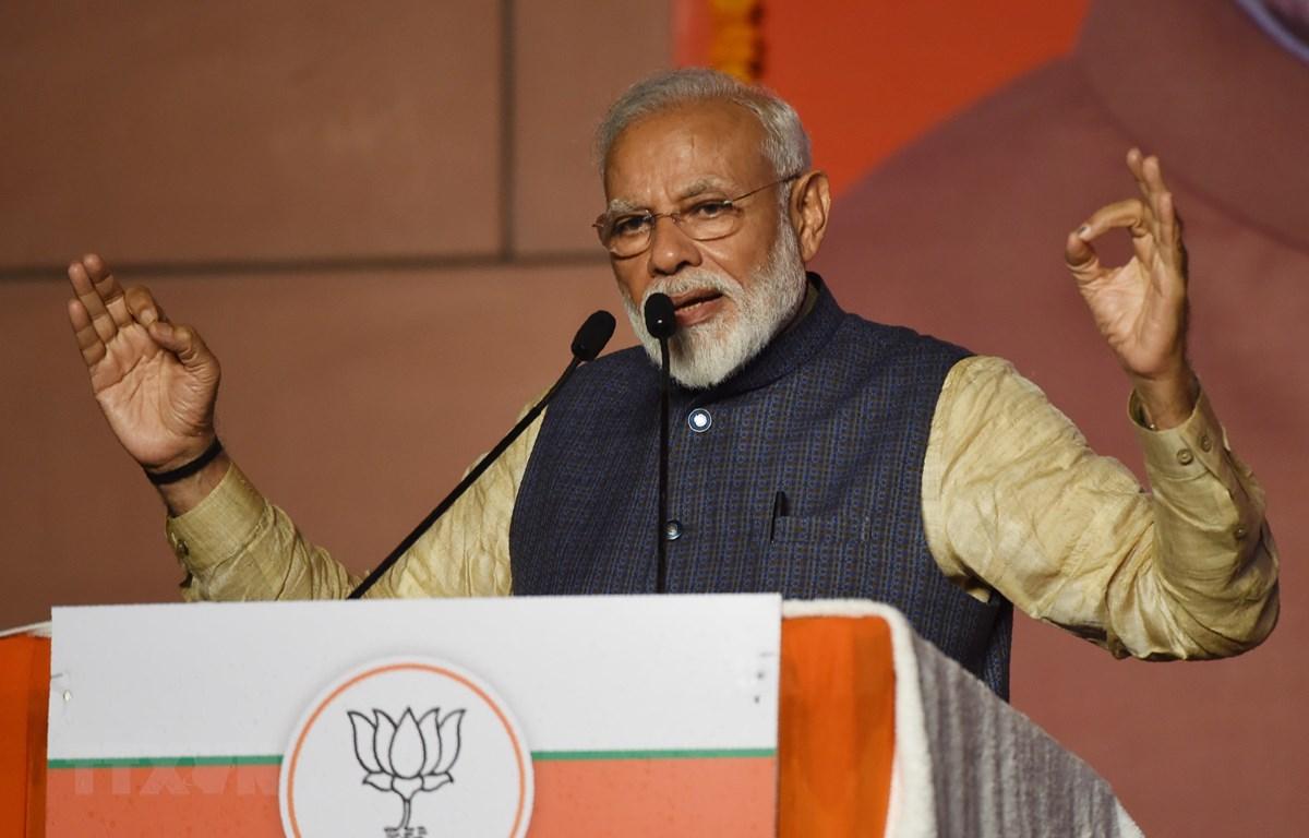 Thủ tướng Ấn Độ Narendra Modi. (Ảnh: AFP/TTXVN)