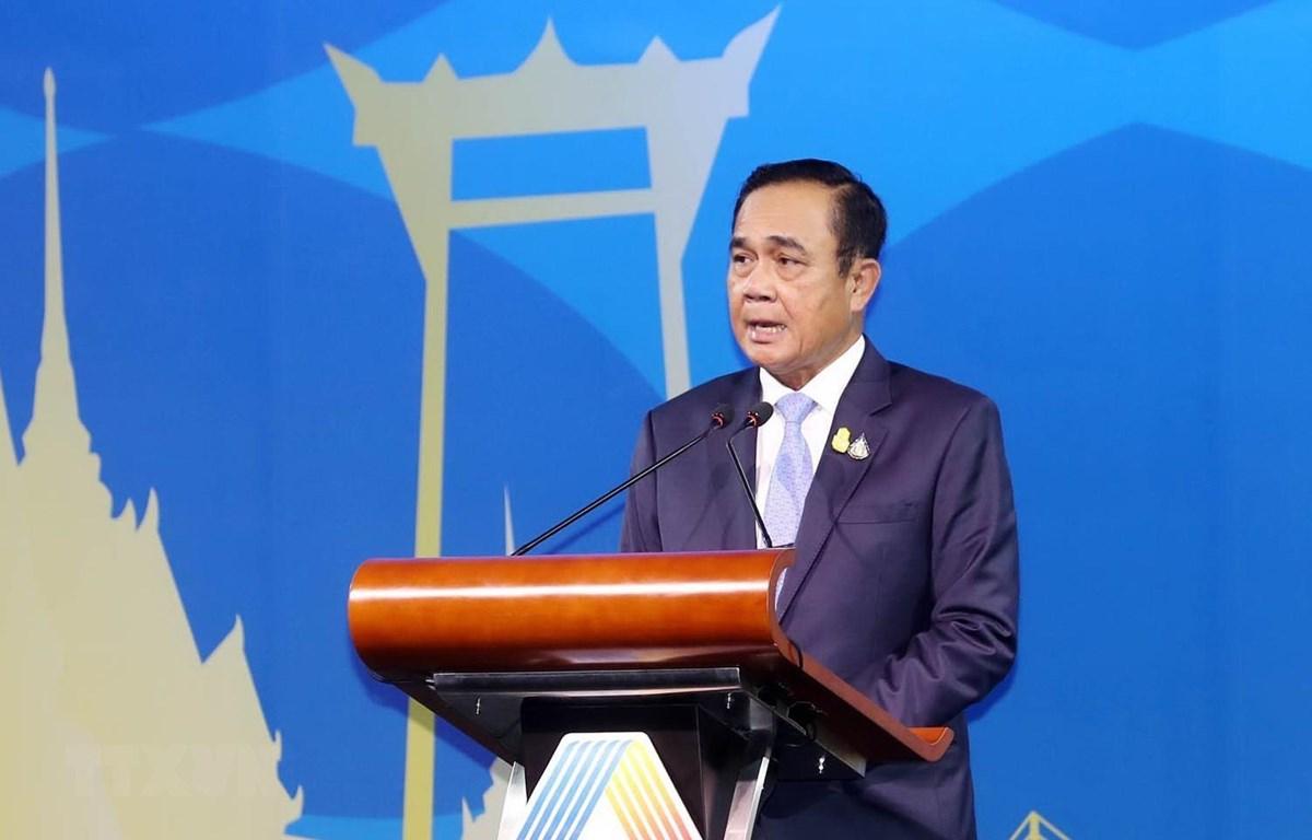 Thủ tướng Thái Lan Prayut Chan-o-cha. )Ảnh: Trọng Đức/TTXVN)