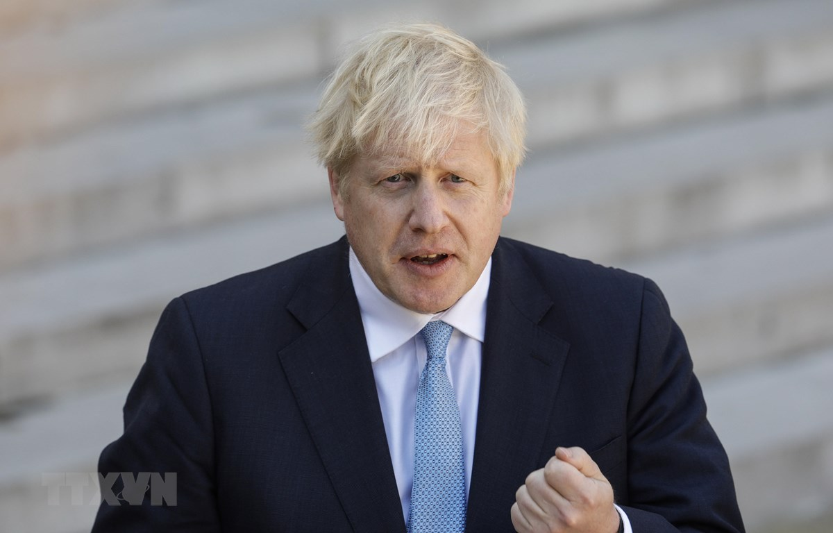 Thủ tướng Anh Boris Johnson. (Nguồn: AFP/TTXVN)