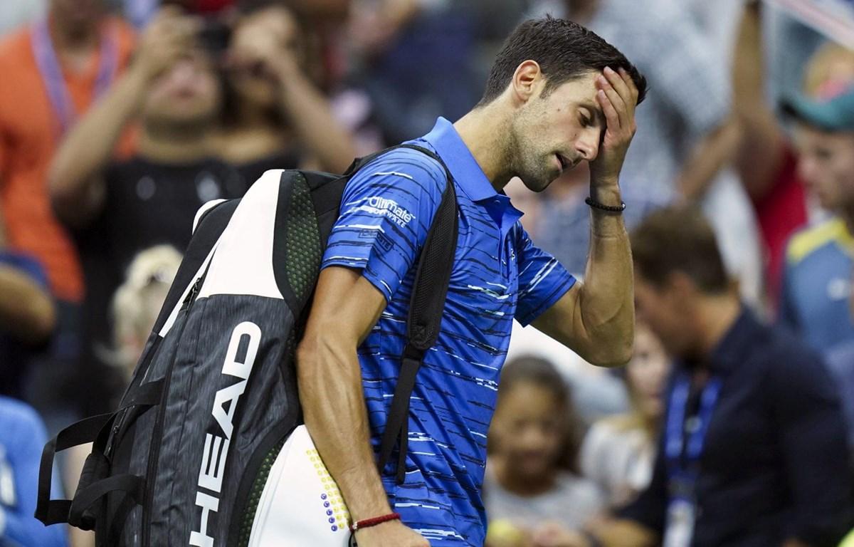 Djokovic bỏ cuộc vì chấn thương. (Nguồn: AP)