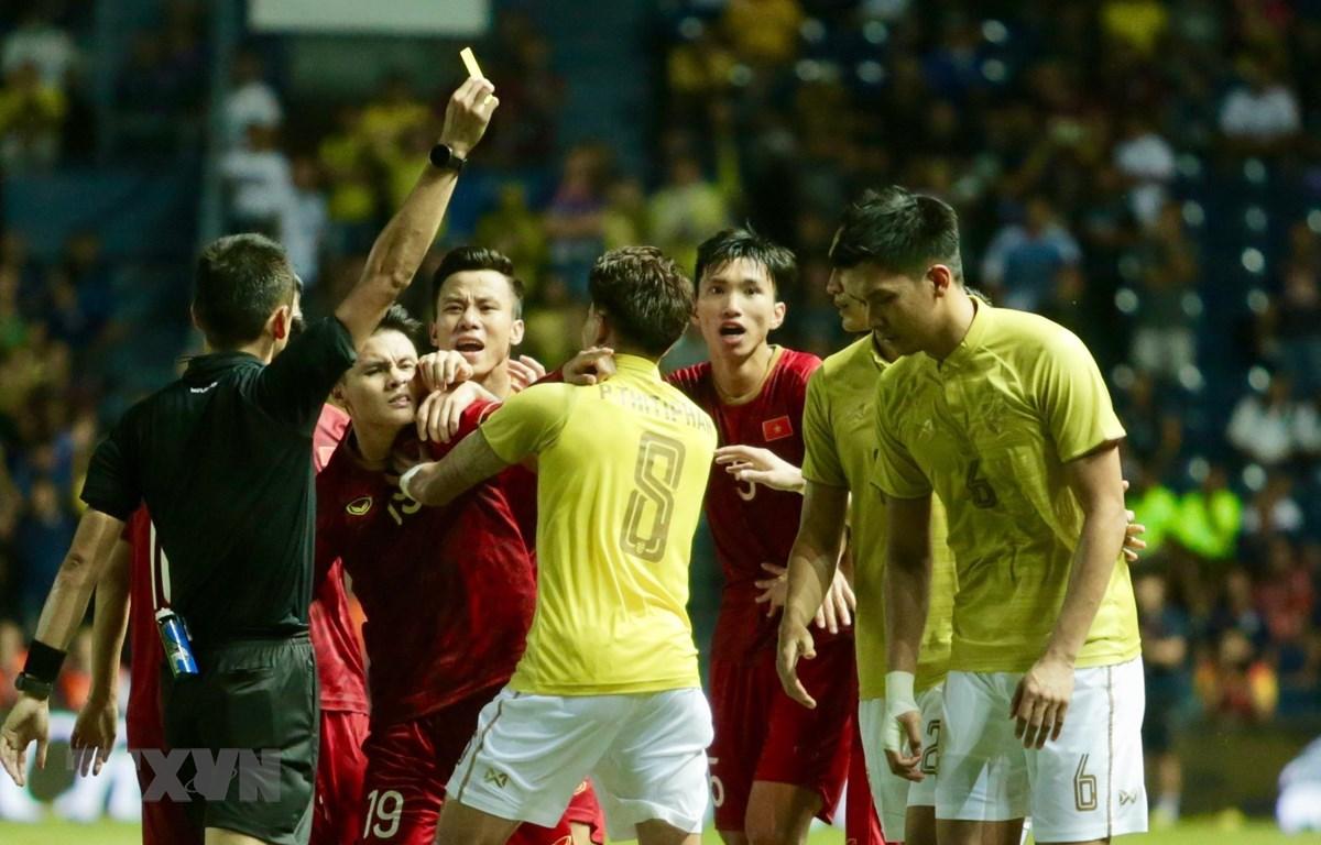 Trận đấu giữa Thái Lan và Việt Nam hứa hẹn sẽ rất kịch tính. (Ảnh: Minh Tiến/Vietnam+)