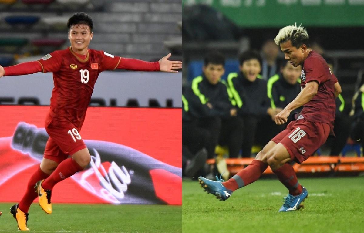 Quang Hải hay Chanathip sẽ giúp đội nhà giành chiến thắng. (Nguồn: AFC)