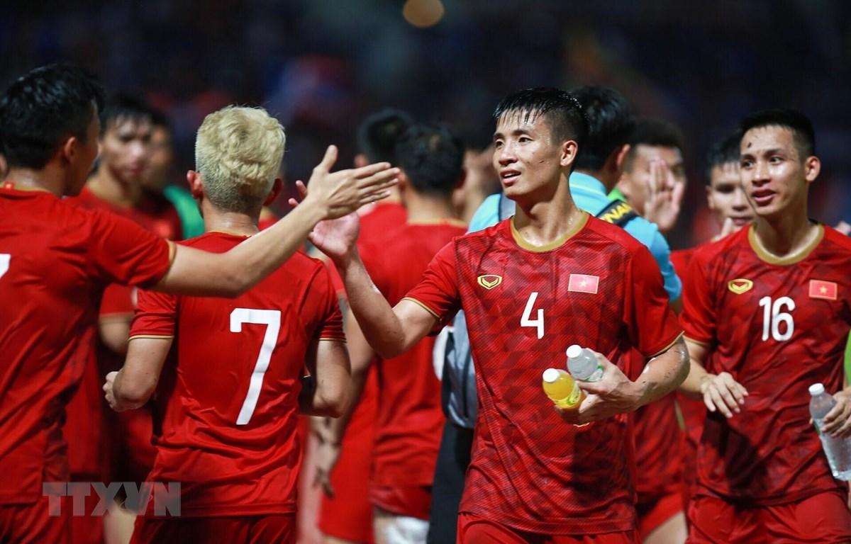 Việt Nam giành 1 điểm trên sân Thái Lan. (Ảnh: Trọng Đạt/TTXVN)