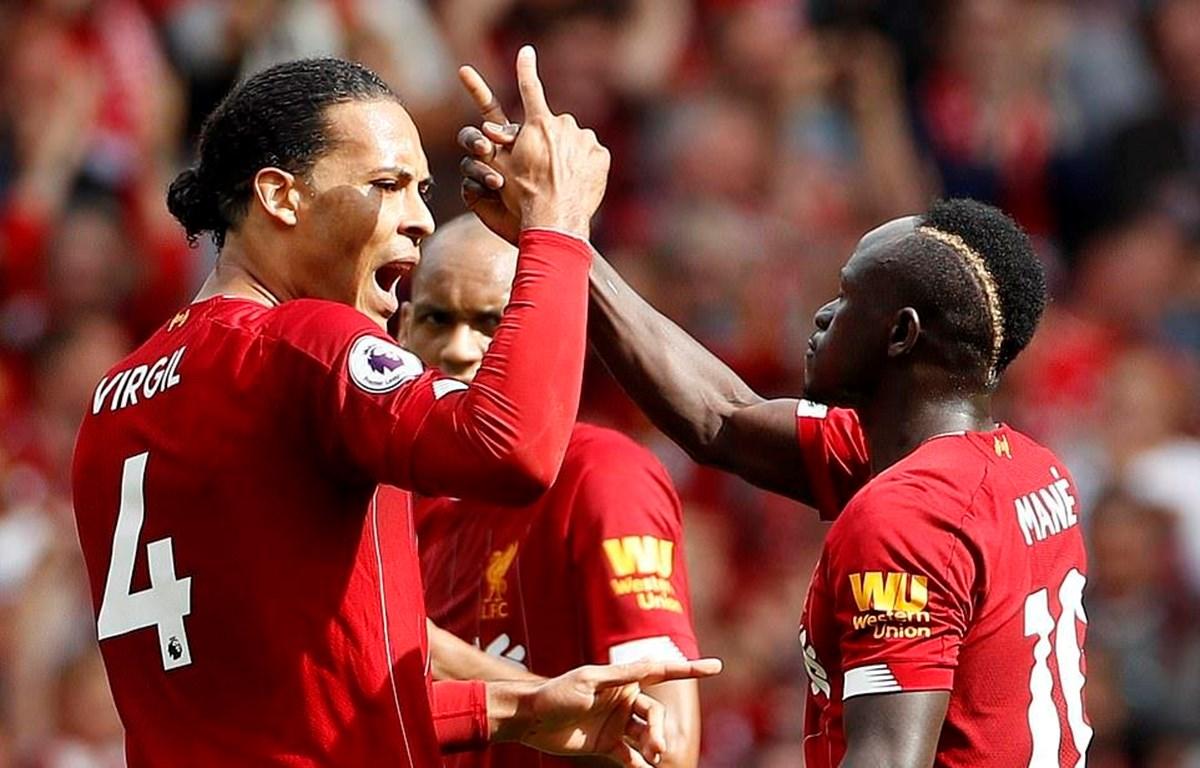 Liverpool giành chiến thắng trước Newcastle.