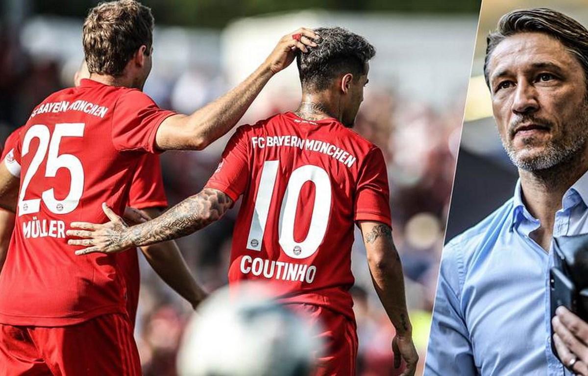 Mueller hay Coutinho sẽ được ra sân trong trận gặp RB Leipzig. (Nguồn: Getty Images)