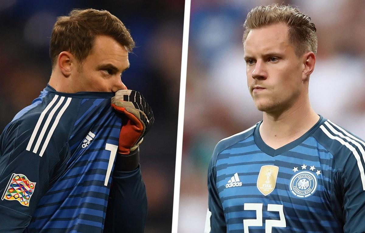 Cả Neuer lẫn ter Stegen đều khẳng định mình xứng đáng hơn vào thời điểm hiện tại. (Nguồn: Goal)