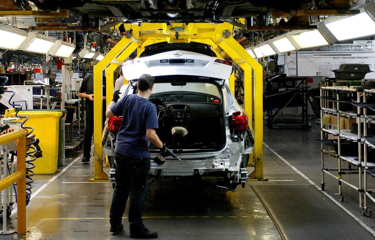 Nhà máy của Peugeot PSA đặt tại Anh. (Nguồn: Getty Images)