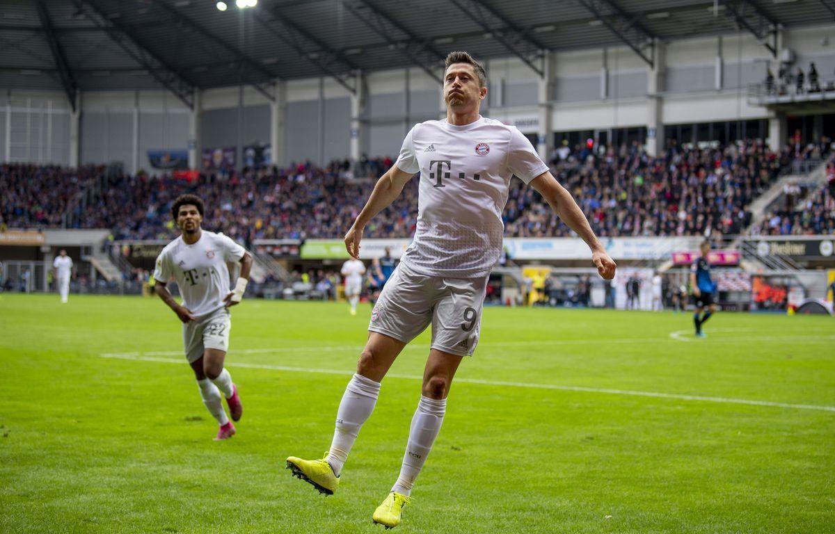 Lewandowski lập nên kỷ lục mới tại Bundesliga. (Nguồn: Getty Images)