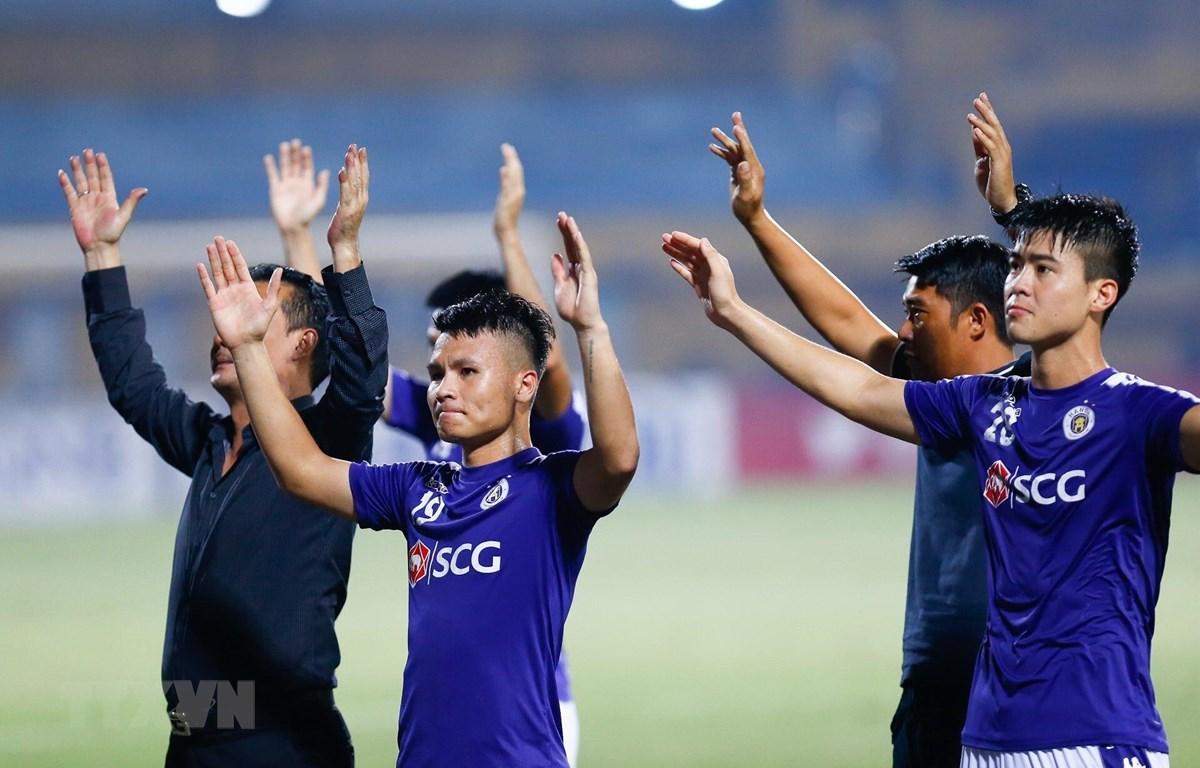 Hà Nội FC không được dự cúp châu Á là điều đáng tiếc. (Ảnh: Trọng Đạt/TTXVN)