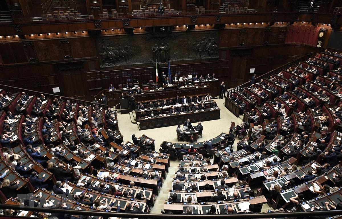 Toàn cảnh một phiên họp của Hạ viện Italy. (Nguồn: AFP/TTXVN)