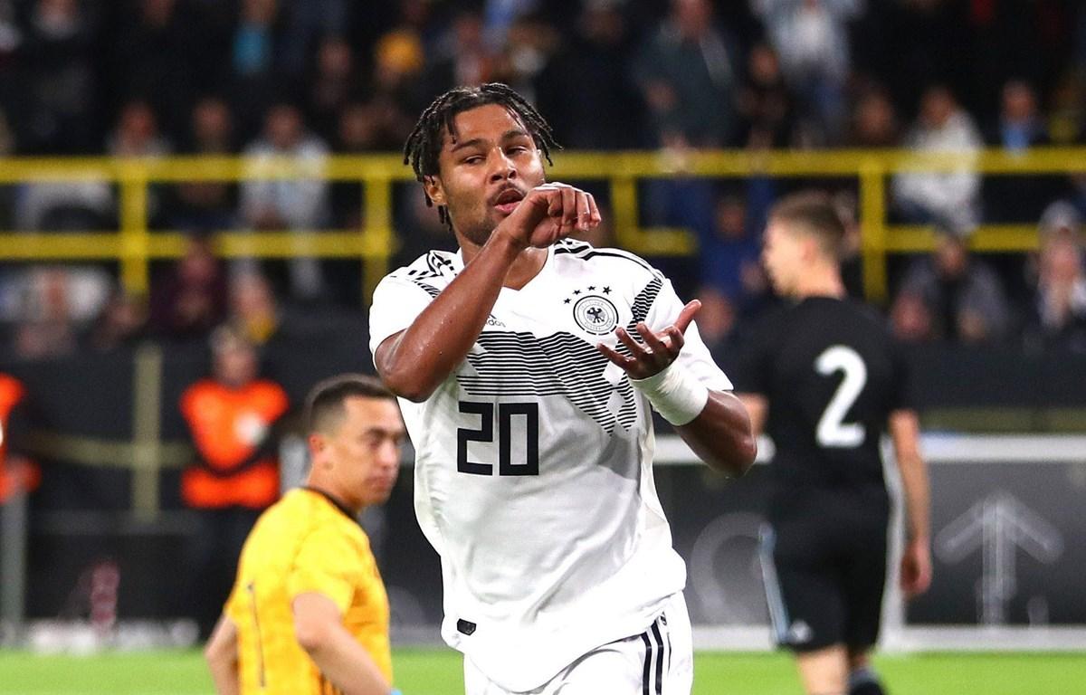 Gnabry lập kỳ tích trong màu áo đội tuyển Đức. (Nguồn: Getty Images)