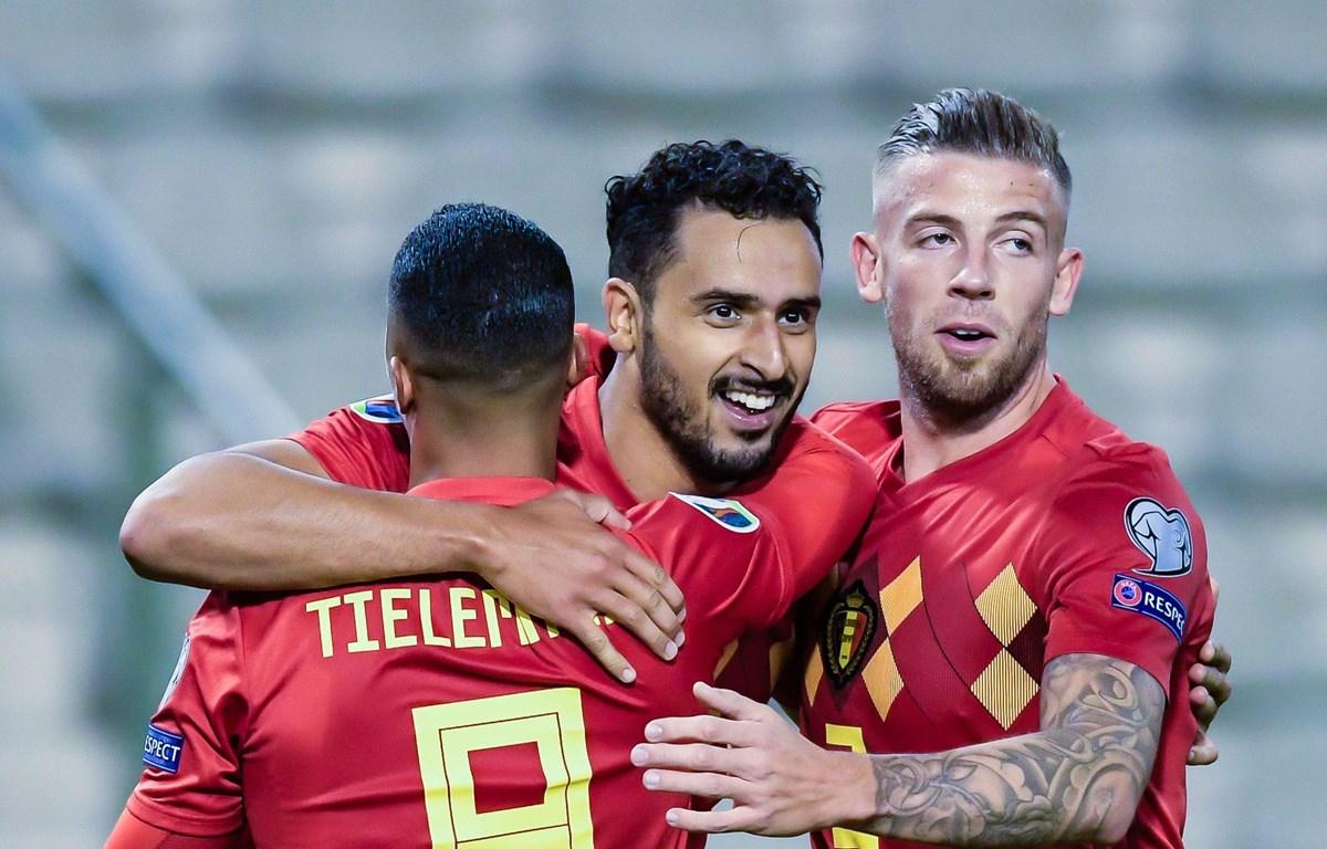 Đội tuyển Bỉ sớm giành vé vào vòng chung kết Euro 2020. (Nguồn: Getty Images)
