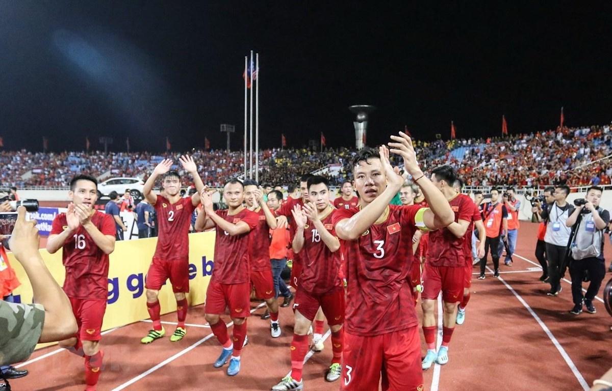 Đội tuyển Việt Nam là đại diện Đông Nam Á duy nhất chiến thắng. (Ảnh: Trọng Đạt/TTXVN)